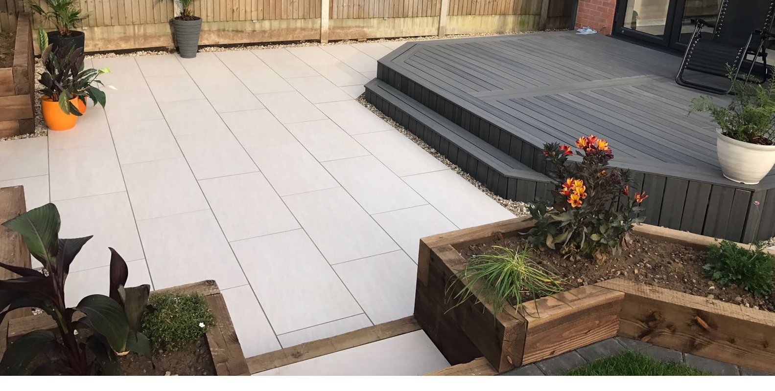 Vitrified Porcelain Paving And Natural Stone Paving Slabs